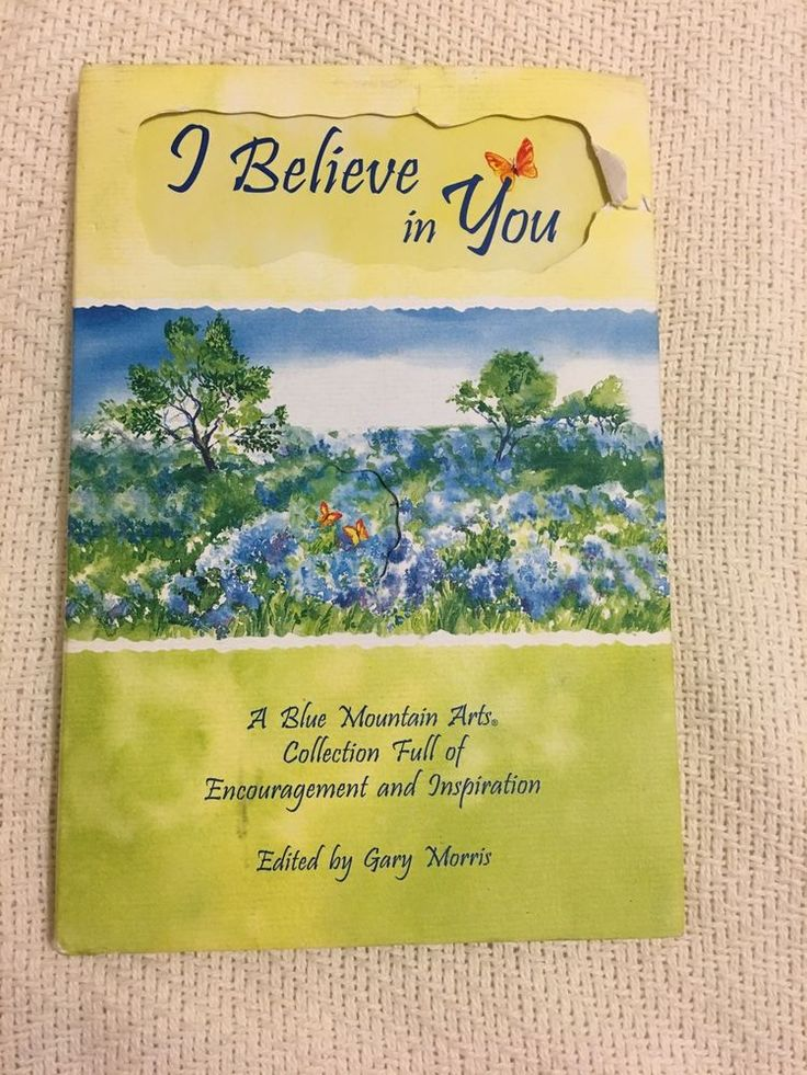 Blue mountain arts collection i believe in you book ebay