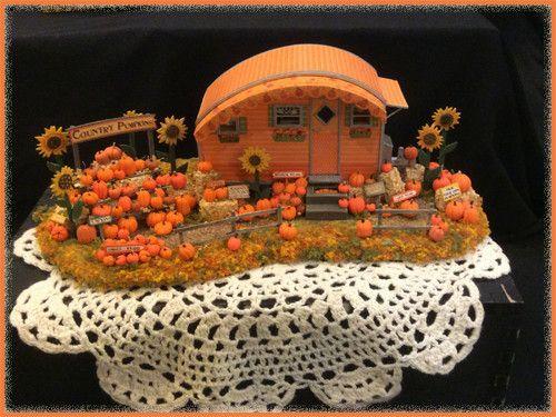 """1/4"""" Country Pumpkins Trailer – Robin Betterley's Miniatures"""
