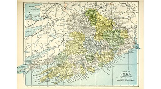 County Cork is the largest county in Ireland. Cork City is the third largest city just behind Belfast and Dublin.
