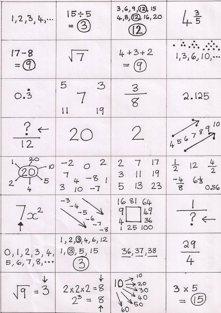 25+ best ideas about Gcse math on Pinterest | Sats, Sat math and ...