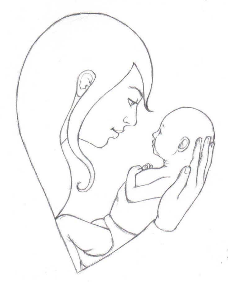 Креативная, картинки на день матери рисовать карандашом