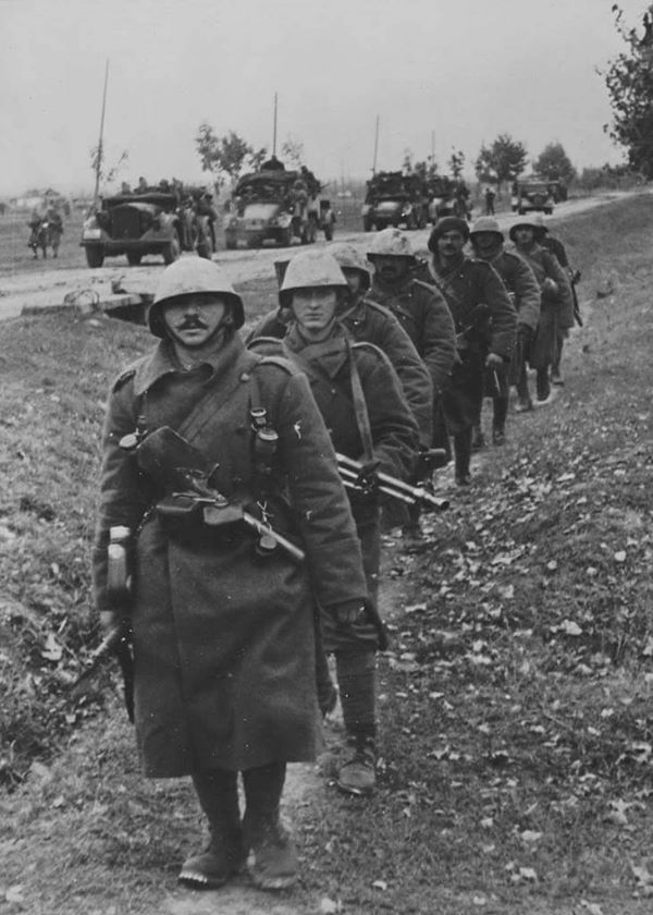 Romanian troops near Don area 1942