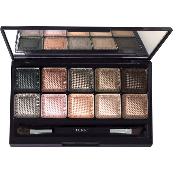 BY TERRY Eye Designer Palette 1 - Smoky Nude found on Polyvore