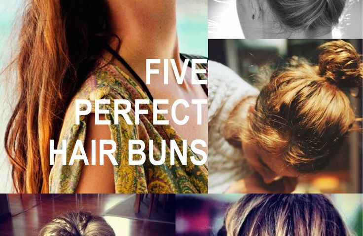 How To Wear The Hair Bun: 5 Easy Tutorials for the Perfect Hair-Do