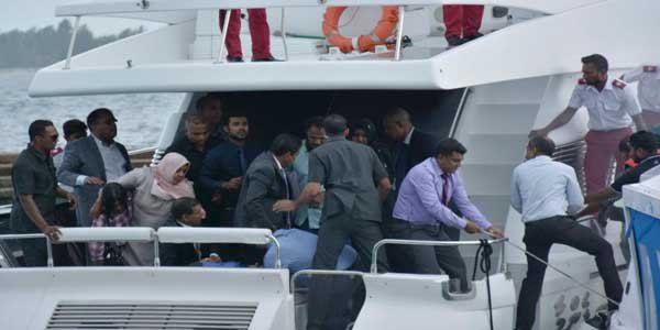 Maldives president escaped from speedboat blast