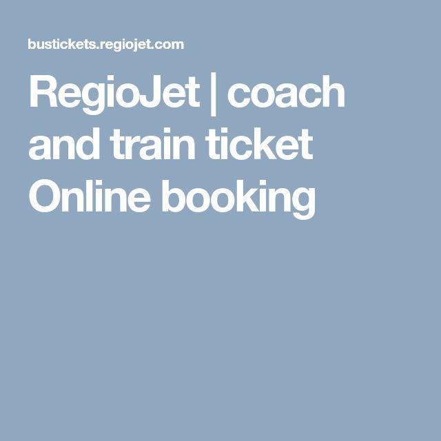 RegioJet | coach and train ticket Online booking