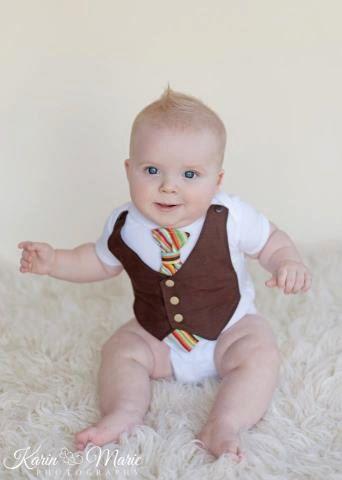 Baby Vest, Baby Vest Onesie, Baby Boy Wedding Outfit, Baby Boy Birthday Outfit, Baby Boy Birthday Onesie. $9.99, via Etsy.