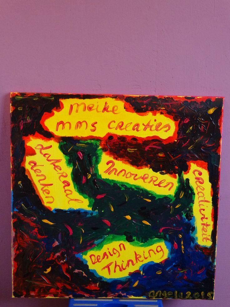 Voor Meike Schapink, een vriendin die mij heeft weten te inspireren te gaan schilderen.