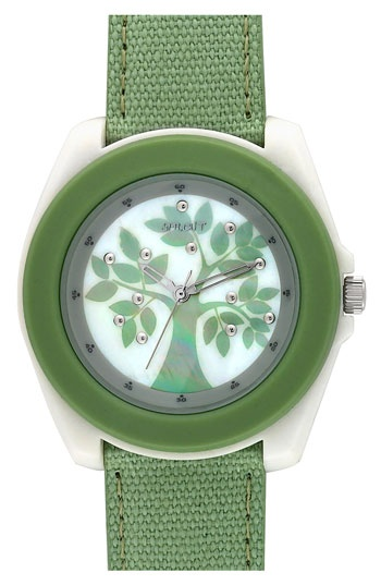Seriously cool watch...and biodegradable to boot (thanks WW).