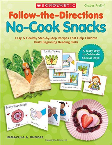 Follow-the-Directions: No-Cook Snacks: Easy & Healthy Step ...