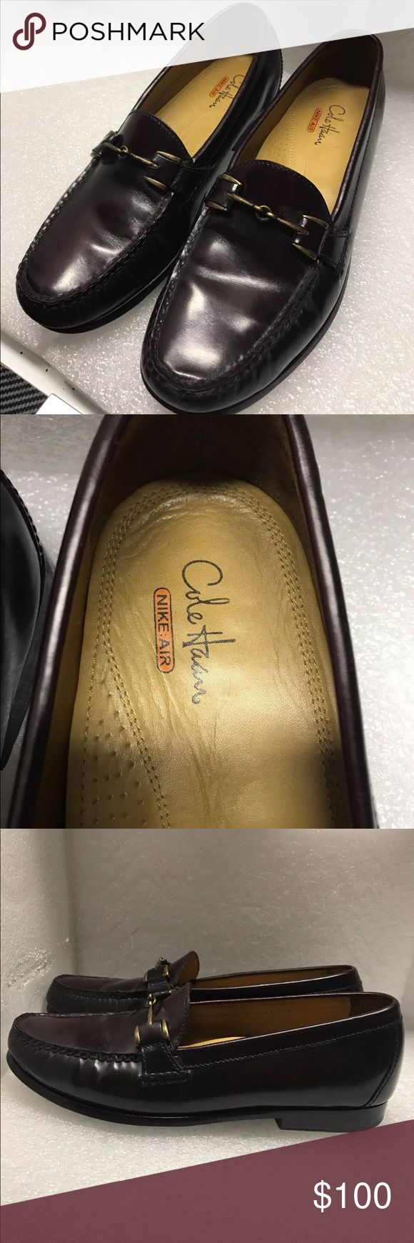 Cole Haan Men's loafers dress shoes size 9.5 Cole Haan hudson driver bit loafer men's dress shoes casual shoe loafers slip ons leather brown in color size 9.5 Cole Haan Shoes Loafers & Slip-Ons