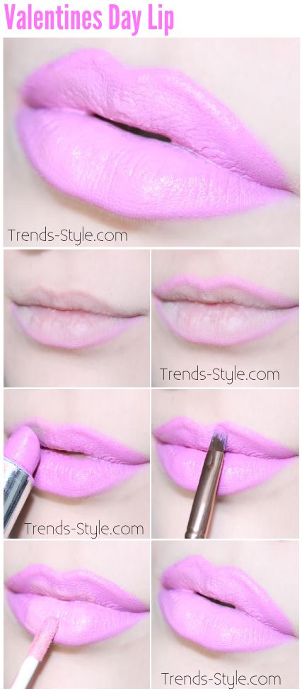 Valentines Day Lip - Trends & Style