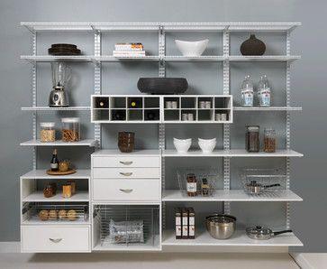 Organized Pantry Shelving - kitchen - cincinnati - Organized Living