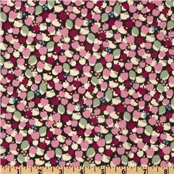 Liberty Of London Tana Lawn Hello Kitty Kitty Apple Tree Pink