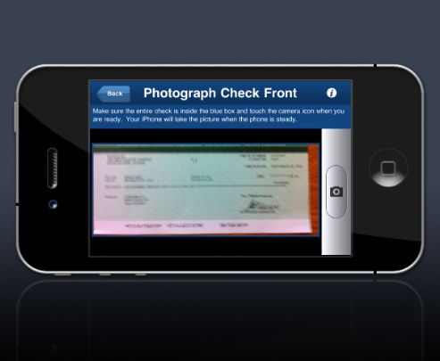 I have no problem going to a bank to make deposits, to get out cash, or to simply check on my account. However, around my house there are no Chase Banks. The closest banks have horrible parking. Then I found the Chase iPhone app. Being able to check on my account and deposit checks visually has saved me time and money from arbitrary parking tickets. Thank you technology.