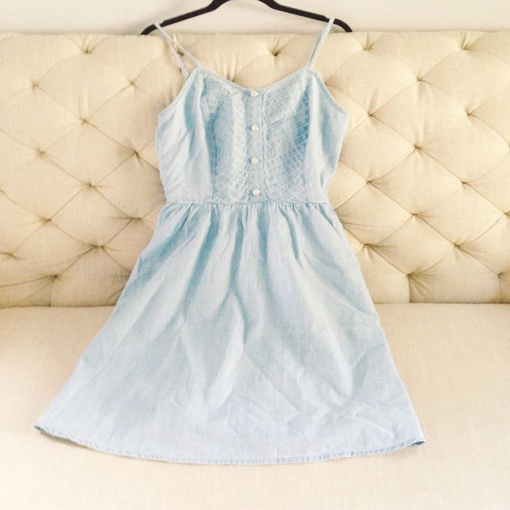 LC Lauren Conrad for Kohl's Chambray Fit & Flare Dress, $37.99
