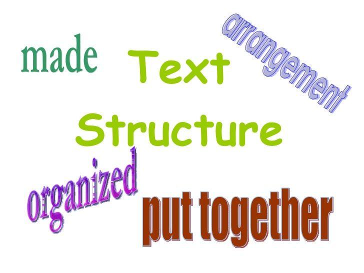 Nonfiction text structures introduction powerpoint