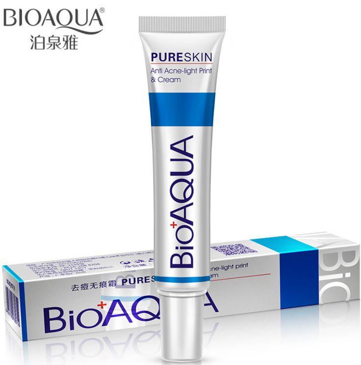 BIOAQUA Face care Acne Treatment Acne Treatment Cream Shrink pores Oil Control Skin care 2pcs 60g