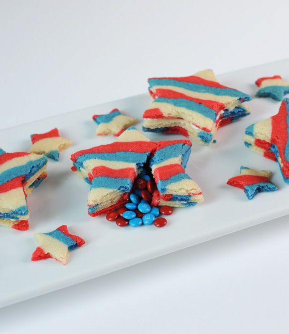 Forth of July - Star Pinata cookies. :): Pinata Cookies Recipes, Desserts, Pinata Sugar, Stars Cookies, Stars Piñata, Stars Pinata, Piñata Sugar, Stars Sugar Cookies, July