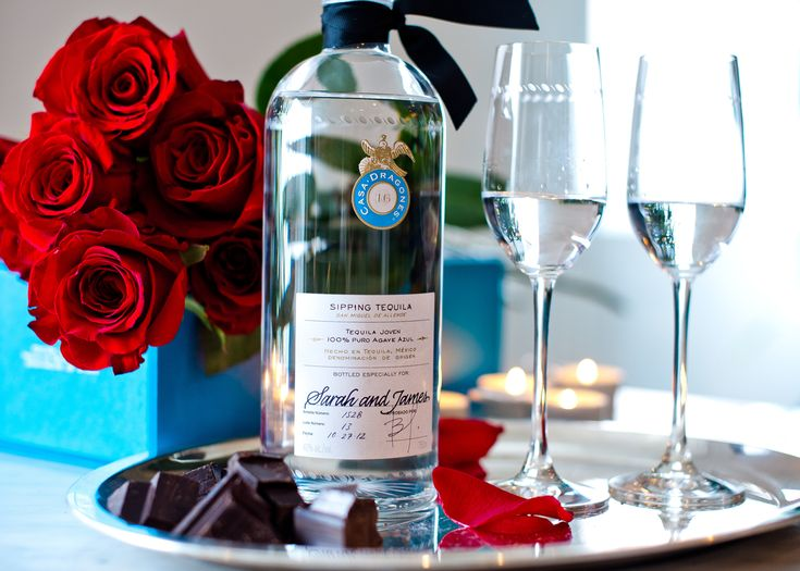 Perfectly paired with chocolate, Tequila Casa Dragones Joven is an elegant gift to share with your tequila lover.