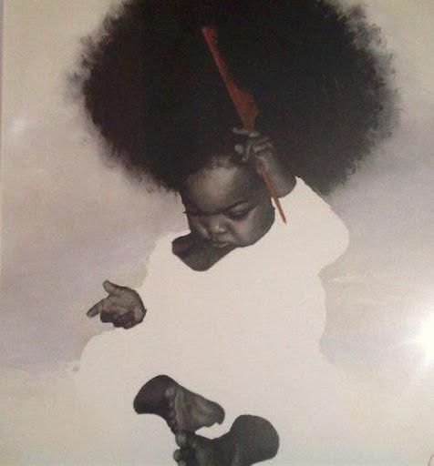 : Blackart, Cutest Baby, Big Hair, Photos Baby, Baby Girls, Hairart, Black Art, Natural Hair Art, Black Girls
