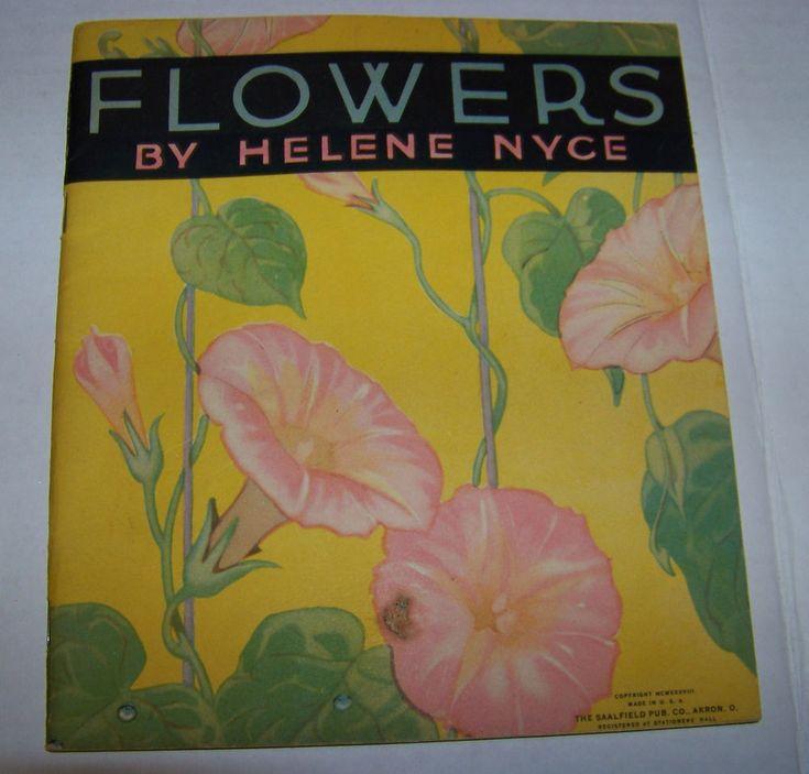 Vintage Childrens Coloring Book