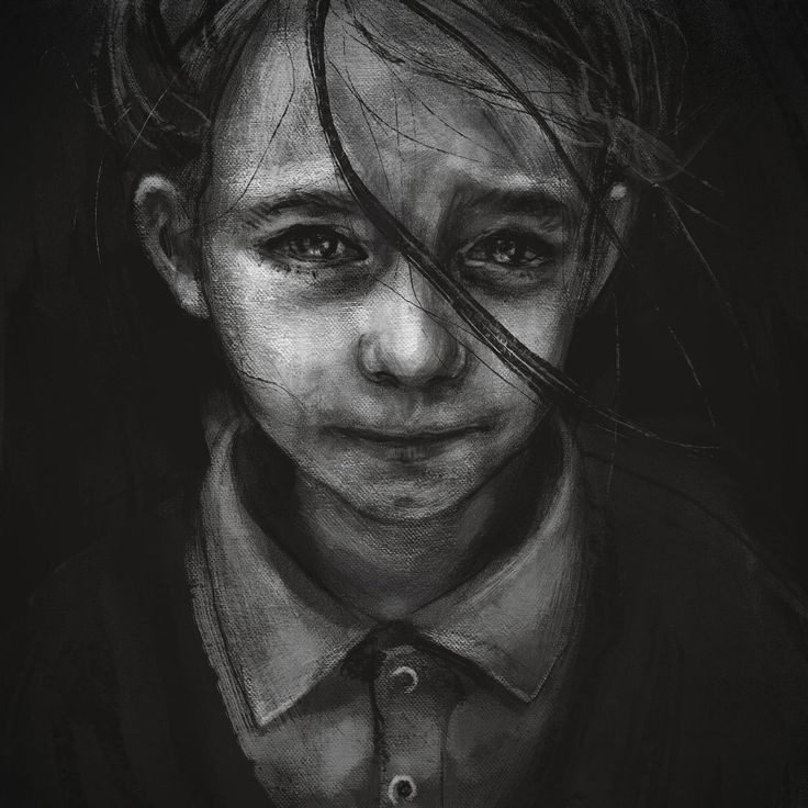 Studium portretu (na podstawie referencji). #art #digital #painting #portrait