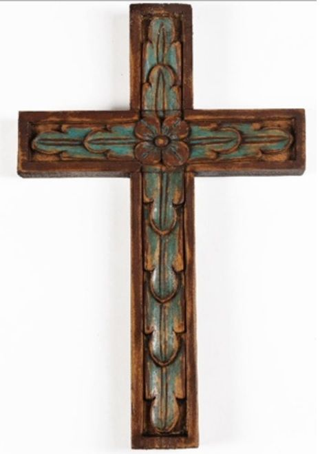 The Mission Cross is the perfect Southwestern wall decor.