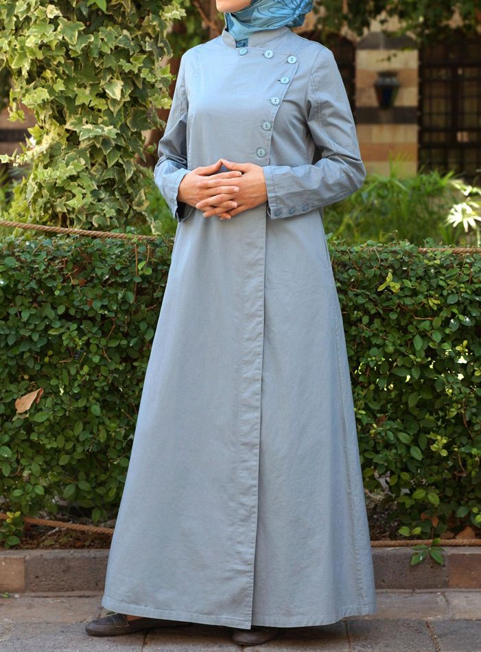 A gorgeous color for a #Jilbab!  Sabura Jilbab from SHUKR Islamic Clothing