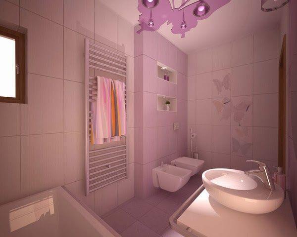 rafrachissante dcoration salle de bains - Accessoire De Salle De Bain Rose Mauve
