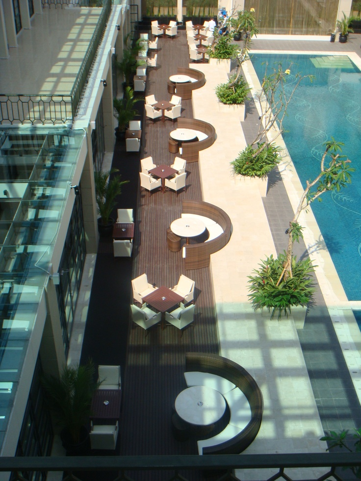 The Pool Cafe Terraces