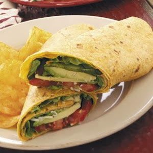 Avocado Tomato Wraps | Food Recipes for Dinner