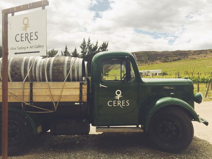 Ceres Wines Central Otago - #TruckinTractor - see some more on our Pinterest board! There's some cool methods of transport in the #nzwine industry