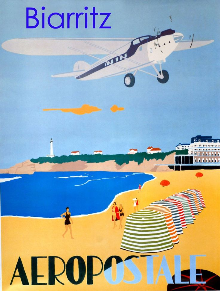 Affiche Biarritz Pays Basque - Neuf et d'occasion - PriceMinister