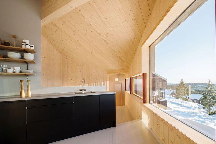 Norwegian apartment complex by Various Architects Modern - gardine küche modern