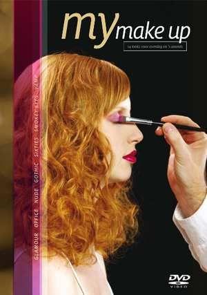 DVD My Make Up  Description: Make-up kan je fris of jonger sexy of serieus sensueel of betoverend maken. Maar het is wel belangrijk dat je het goed doet. My Make-up laat duidelijk en heel makkelijk zien hoe dat gaat en waarop je bij het opmaken moet letten. 14 modellen - 14 looks. My Make-up laat je stap voor stap zien hoe de perfecte makeup voor overdag en 's avonds tot stand komt. Alles van een natuurlijke nude look via een elegante business make-up tot en met een betoverende styling voor…