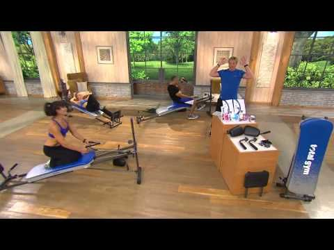 Total Gym Elite with 6 Attachments and 4 DVDs with Rick Domeier - YouTube