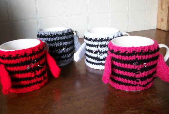 Punk Rock Cup Cosy - Choose Colour