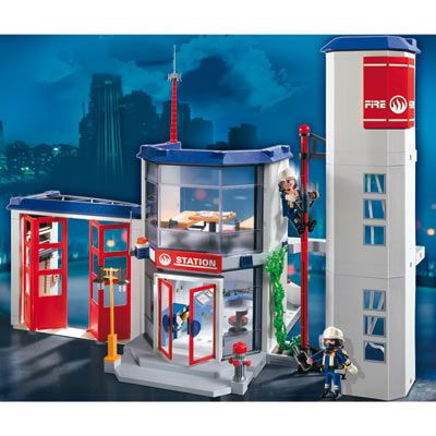 Playmobil 4819 Caserne de pompiers 59,90 € livré le moins cher