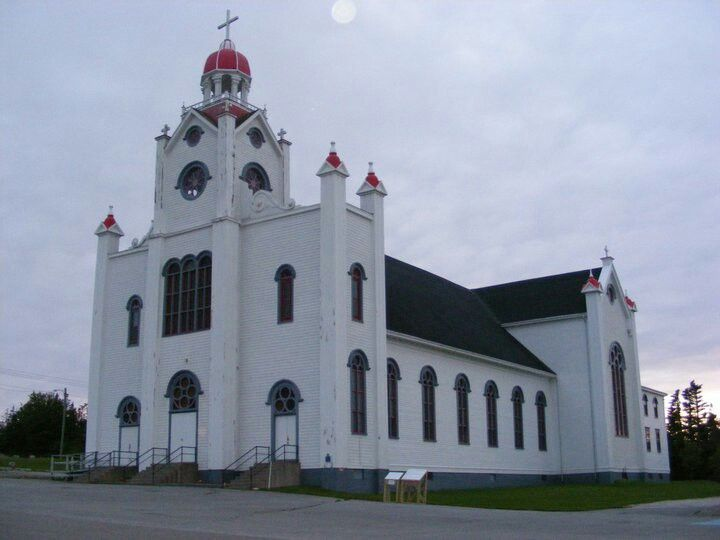 One of the oldest largest wooden churches in Canada ~Newfoundland~