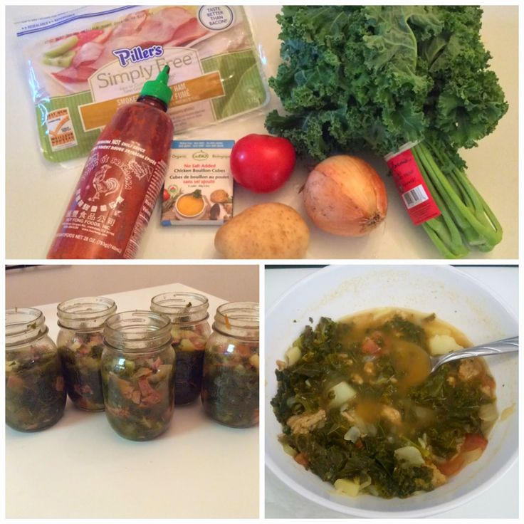 7 Ingredient Spicy Kale Soup (Healthy & Easy) - love this recipe! Makes enough so that I have lunch for the entire work week. Such a great fall recipe, and you can substitute the protein used (eg. Lean ground pork or turkey).