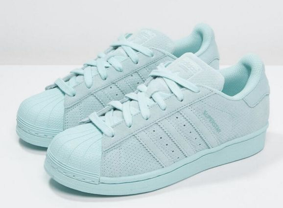 Adidas Superstar Clear Aqua. Available now. http://ift.tt/1hCOaIz