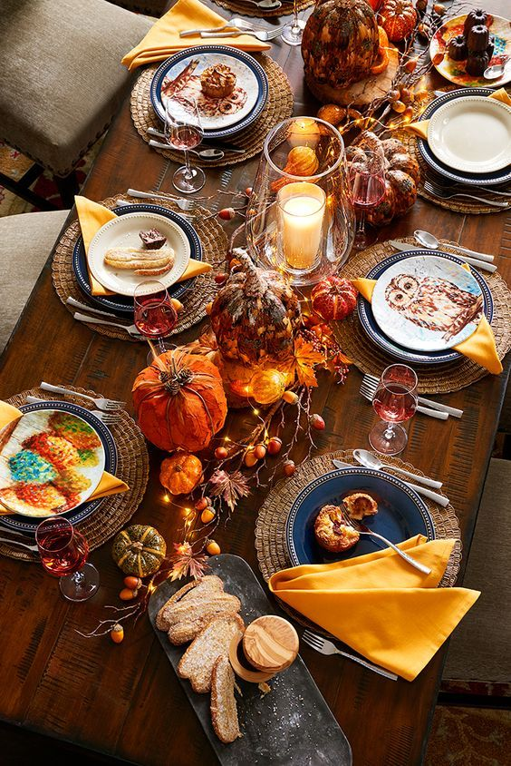 I love this table setting by pier 1 more holiday table for Thanksgiving home ideas