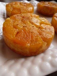 Gâteaux renversés caramélisés à la mangue