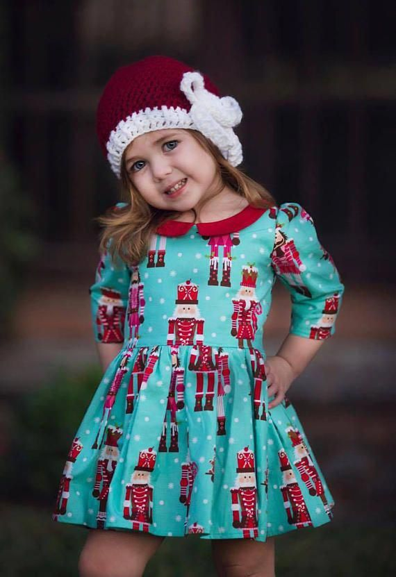 97b0f755d008d Pin by Shelley Liphiote on Ideas for kids clothing   Toddler christmas dress,  Girls christmas dresses, Girls holiday dresses