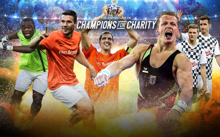 Stars bei Champions for Charity