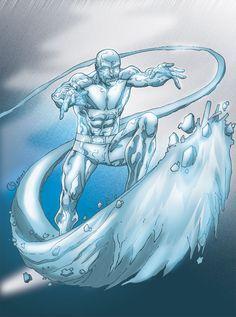 ice man mi piace tantissimo, lo trovo un personaggio forte, di carattere, un bel super potere.