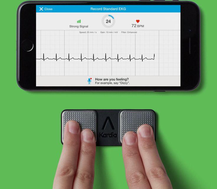AliveCor Afib detection at your fingertips