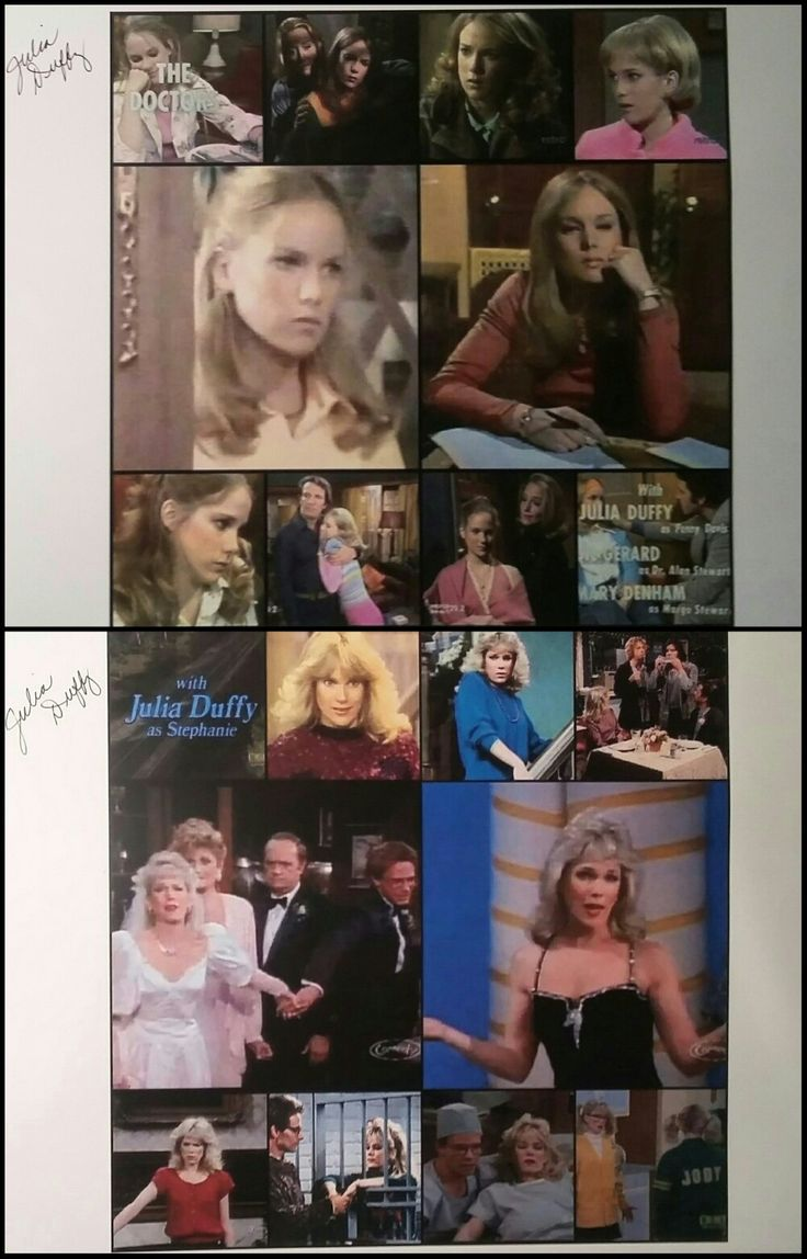 Autographs from Julia Duffy (Penny Davis):