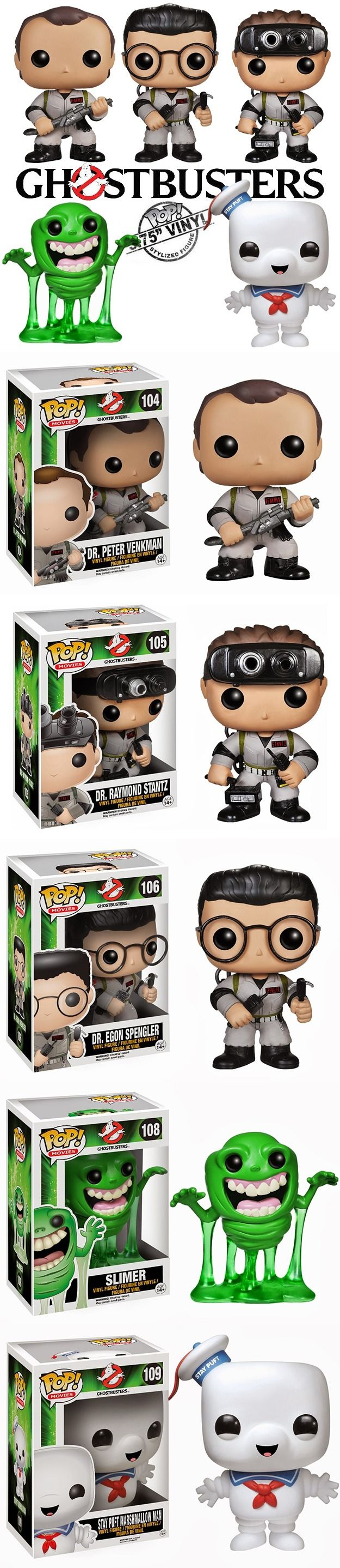Ghostbusters Pop! Vinyl Figures